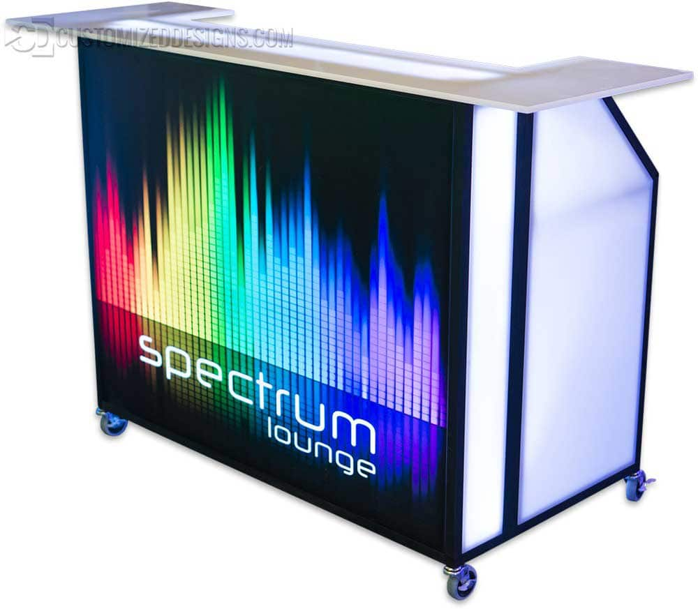 Portable Bar - LED Lighted - 48""