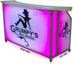"""62"""" Portable Bar Replacement Panels"""