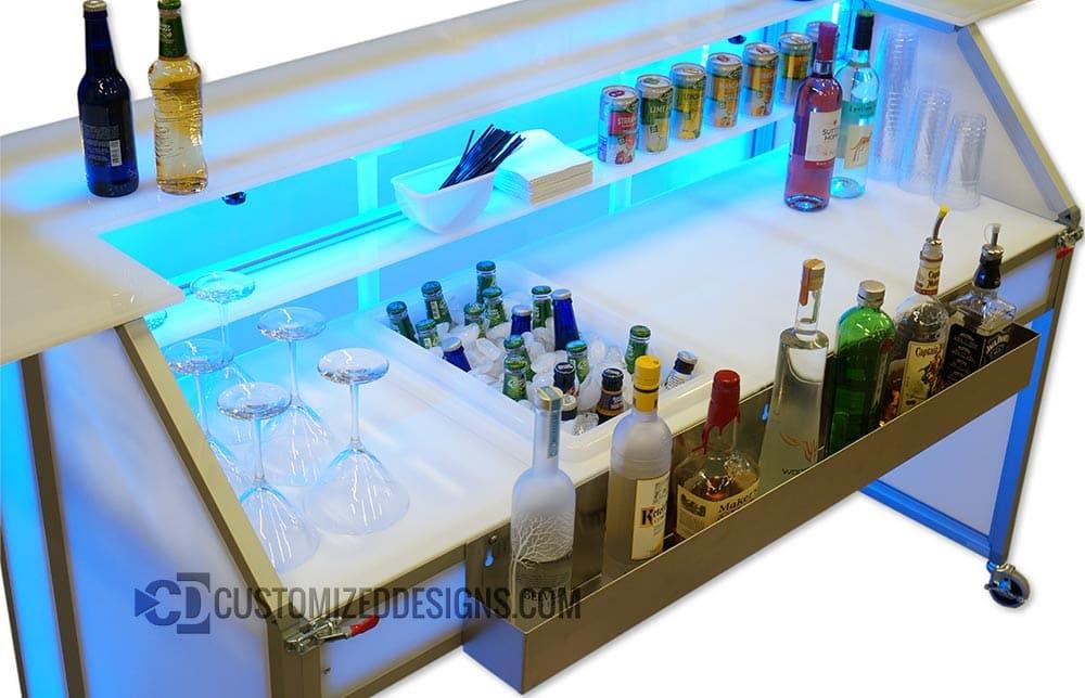 """62"""" Portable Bar"""