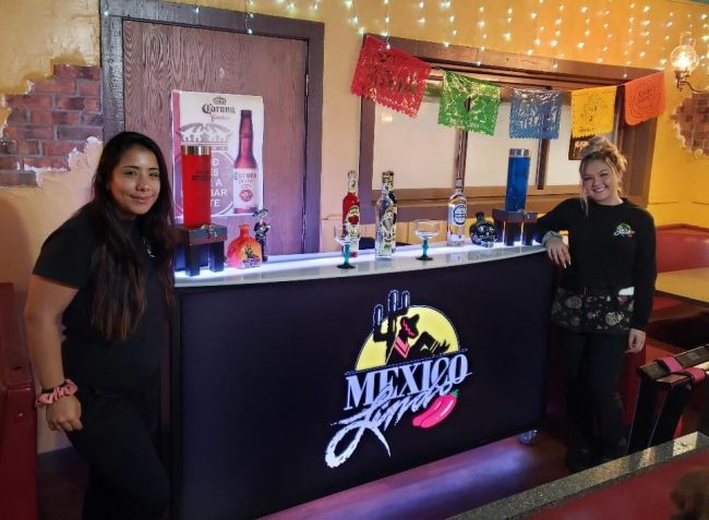 Mexican Restaurant Portable Bar