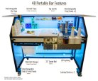 48 Portable Bar Features