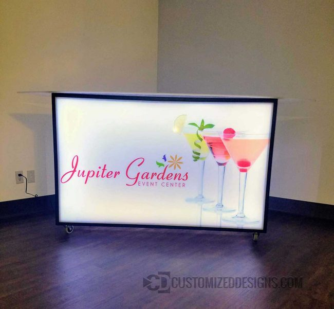 62 Portable Bar - Jupiter Events