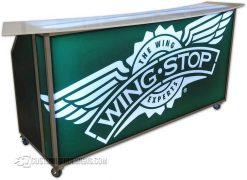 Mobile Bar On Wheels - Wingstop