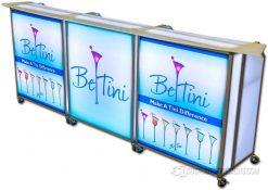 Mini Portable Bar w/ Custom Bar Tops