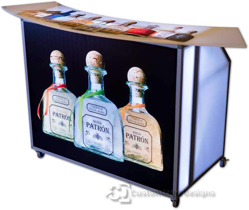 Portable Bar w/ Patron Branding