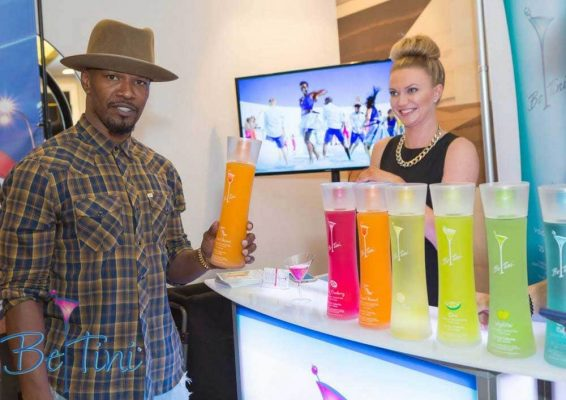 Be Tini, Jamie Foxx & Our Portable Mini Bar
