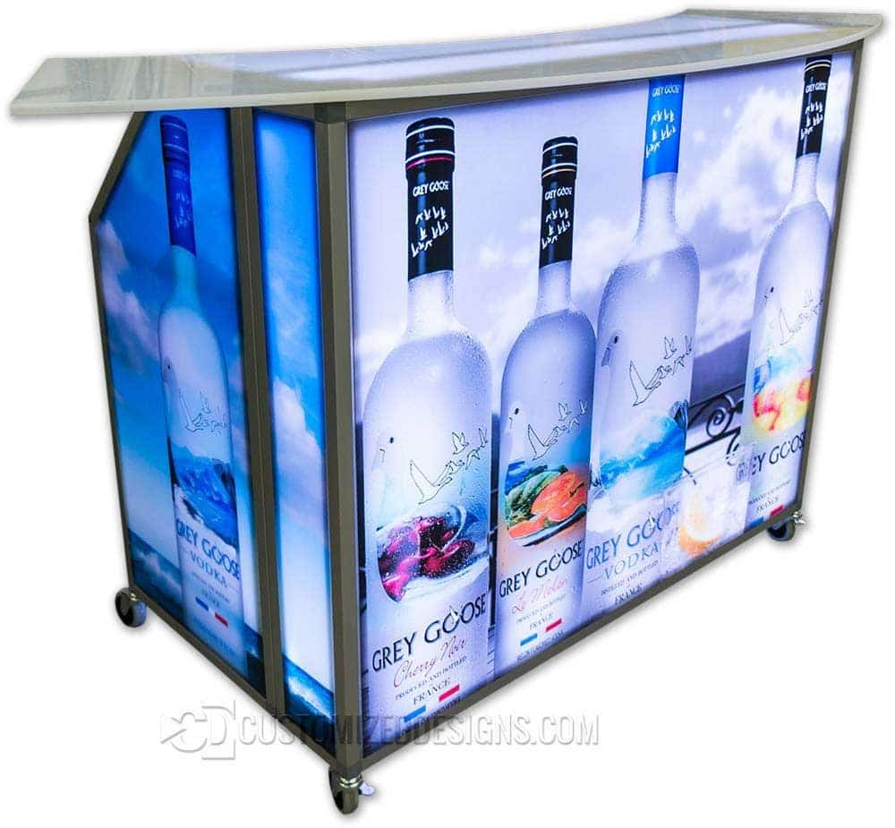 Portable Bar Grey Goose