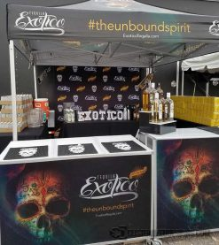 Mobile Back Bar for Brand Promotion