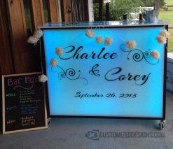Mobile Bar Hostess Stand