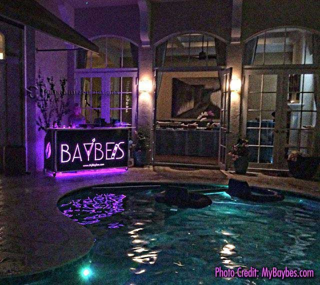 Baybe LED Lighted Portable Bar