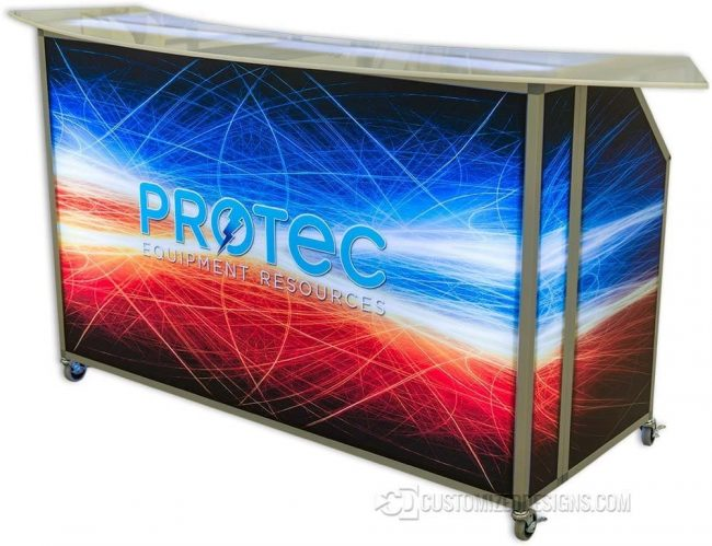 "62"" Portable LED Lighted Bar"