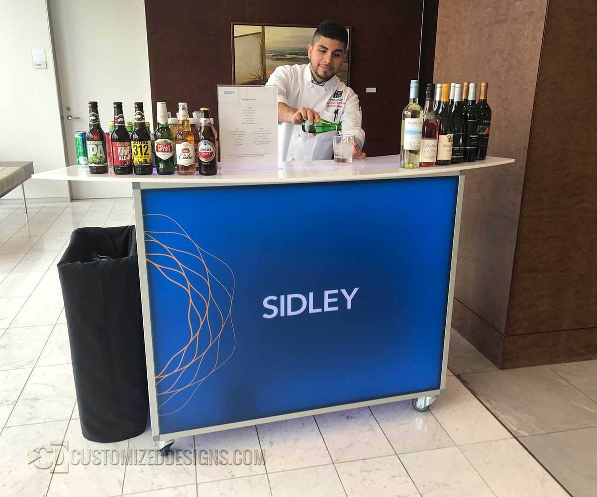 "Sidley 48"" Portable Bar"